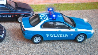 La Voiture De Police Bleu Et Ses Amis Dessin Animé