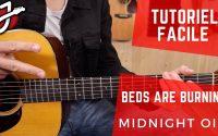 APPRENEZ À JOUER « BEDS ARE BURNING» DE MIDNIGHT OIL - Cours de guitare - Tutoriel facile
