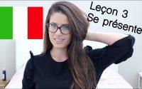 Apprendre l'italien : Leçon 3