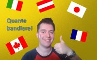 Apprendre l'italien - Leçon 3 /// Les pays et les adjectifs de nationalité,le verbe essere (être)