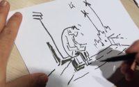 Comment apprendre à dessiner ? La leçon de dessin de Guy Delisle [tutoriel]