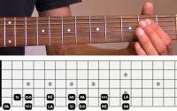 Cours de Guitare : Apprendre son manche 1/2
