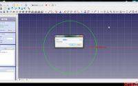 Freecad Tutoriel 03: Bien débuter, Paramètres et contraintes d'ésquisse.