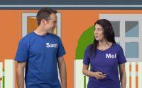 Leçon 1 – Sam and Mel Anglais pour les Enfants
