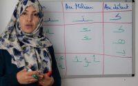 Leçon 12: La lettre au début, au milieu et à la fin du mot: Apprendre à lire et écrire l'arabe