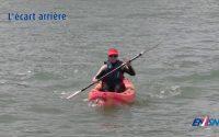 Leçon 3 : changer de direction avec un kayak en mer