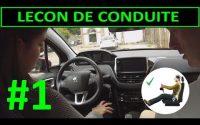 Leçon de conduite #1 PREMIERE Leçon Installation au poste de conduite PART 1