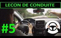 Leçon de conduite #5 PREMIERE Leçon - Trajectoire