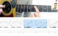 METALLICA - NOTHING ELSE MATTERS   Tutoriel Guitare + Tablature