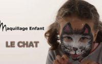 Maquillage Chat - Tutoriel maquillage enfant facile