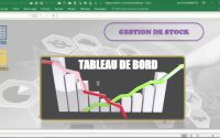 Tableau de Bord  - Suivi des Stocks (Leçon n° 1)