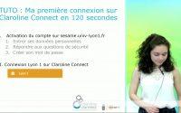 Tutoriel connexion à Claroline Connect