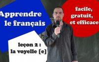 Apprendre le français - Leçon 2 - Débutant