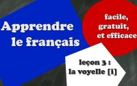 Apprendre le français - Leçon 3 - Débutant