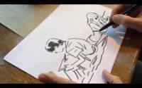 """Bastien Vivès : Comment j'ai dessiné """"Une Soeur"""" - La leçon de dessin"""