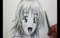 Comment dessiner un visage Manga de fille [Tutoriel]
