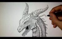 Comment dessiner une tête de Dragon [Tutoriel]