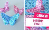 Comment faire un origami papillon (Tutoriel Facile)