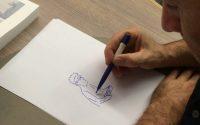 """Comment j'ai dessiné... """"S'enfuir"""", la leçon de dessin de Guy Delisle"""