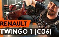 Comment remplacer ressort de suspension arrière sur RENAULT TWINGO 1 (C06) [TUTORIEL AUTODOC]