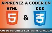 Cours Complet HTML CSS - Tutoriel pour Débutants et Confirmés [Partie 3/3]
