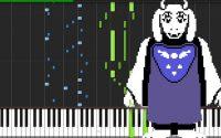 Heartache - Undertale [Piano Tutoriel] (Synthesia)