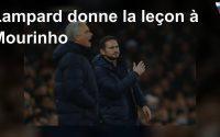 Lampard donne la leçon à Mourinho
