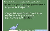 Leçon de français sur les adjectifs qualificatifs - pour les CP, CE1 - learn french