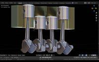 Modéliser un vilebrequin blender 2.81a Tutoriel N°2 Français SVM6 Suite