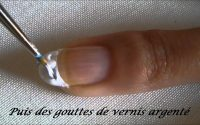 Tutoriel French manucure marbrée / Marbled French manicure tutorial