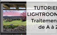 Tutoriel Lightroom, post-traitement d'une photo de A à Z dans Lightroom et retouche locale