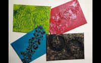 Tutoriel Peinture - 4 Techniques de Texture avec du Gesso