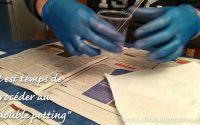 Tutoriel - Preparer une résine epoxy (sans bulles)
