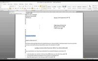 Tutoriel Word Mise en page lettre