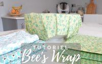 Tutoriel comment faire un Bee's Wrap / Bee Wrap
