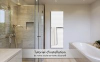 Tutoriel sèche-serviette décoratif DECOWATT