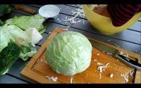 Tutoriel sur la technique de fermentation du chou en choucroute