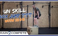 Un WOD INTENSE et un TUTORIEL BOX JUMP pour le CrossFit || Workout Of The Week (WOTW) S2 #16