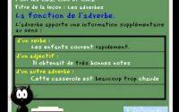 cours leçon de francais - Les adverbes - CE2, CM1, CM2 www.ladictee.fr