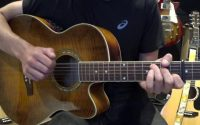 Ce soir je te laisse partir (Cali) - Tutoriel guitare avec partition en description (Chords)