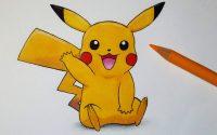Comment dessiner Pikachu [Tutoriel]