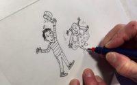 Comment j'ai dessiné Tom-Tom et Nana, la leçon de dessin de Bernadette Després
