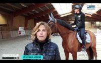Contrôler son cheval à la réception : la leçon de Virginie