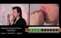Cours d'harmonica - leçon 1