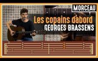 Cours de Guitare : Apprendre Les Copains D'abord de Georges Brassens - L'accompagnement