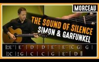 Cours de guitare  : Apprendre The Sound of Silence de Simon & Garfunkel
