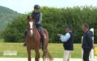 Episode 13: leçon d'équitation de Megan et Next avec Hervé Godignon