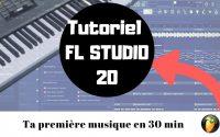 FL STUDIO 20 - Faire sa première instru en 30 min - [Tutoriel FR] Formation débutant - EP2