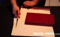 Faire un paquet cadeau pour Noël, un anniversaire ou une fête) - Tutoriel par Trucsetdeco.com