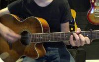 If I had a gun (Noël Gallagher) - Tutoriel guitare avec accords et partition en description (Chords